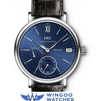 IWC - Portofino Hand Wound Big Date Eight Days Ref. IW510106