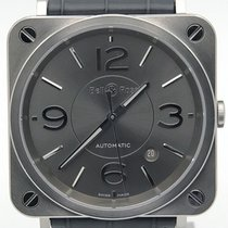 Bell & Ross Br S Automatic 39mm Midsize Watch Brs92-ru-st/scr