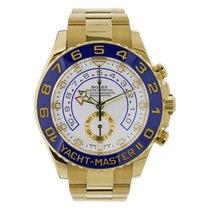 Rolex YACHT-MASTER II 44mm 18K Yellow Gold Watch 2017