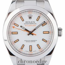 Rolex Milgauss Steel 116400(All factory stickers in place)