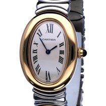 Cartier Baignoire Yellow Gold 18 Krt / Bracelet Gold Steel (1997)