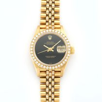 Rolex Lady-Datejust 18K Solid Yellow Gold Automatic Diamonds
