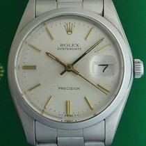 Rolex Oyster Precision Date 34mm Stainless Steel Manual Winding