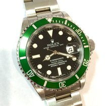 Rolex OYSTER PERPETUAL DATE 1000ft=300m SUBMARINER Stainless...