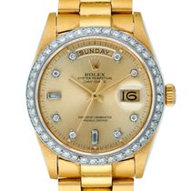 Rolex , GOLD AND DIAMOND-SET DAY-DATE, REF. 18038