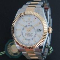 Rolex Sky-Dweller Gold/Steel NEW 326933