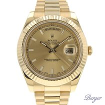 Rolex Day-Date II Yellow Gold