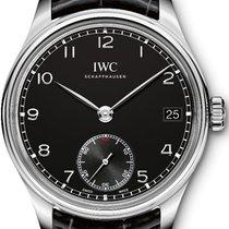 IWC Portuguese Hand-Wound новые Механические Часы с оригинальными документами и коробкой IW510202