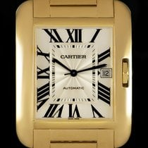 Cartier Tank Anglaise pre-owned 36.2mm Yellow gold