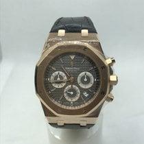 Audemars Piguet Royal Oak Chronograph pre-owned 39mm Leather