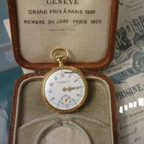 Patek Philippe Pendant watch with original Patek Philippe box & Certificate D´ Origine  & De Garantie Mycket bra Gulguld 32mm Manuell uppvridning Sverige, Stockholm