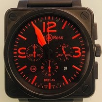 Bell & Ross BR 01-94 Chronographe occasion 46mm Acier
