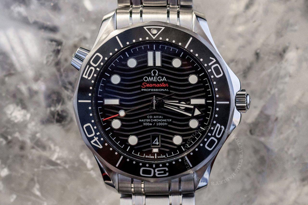 Omega Seamaster Diver 300 M 210.30.42.20.01.001 2021 new