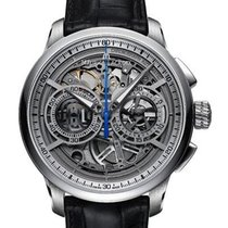 Maurice Lacroix Masterpiece Squelette Steel 45mm Silver