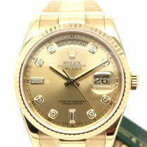 Rolex Day-Date 36 Yellow gold 36mm Champagne United Kingdom, Fleetwood, Lancashire
