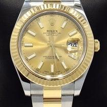 Rolex Datejust II Gold/Steel 41mm Champagne United States of America, Florida, Boca Raton