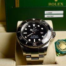 Rolex Sea-Dweller Deepsea Acciaio 44mm Nero Senza numeri Italia, Trieste