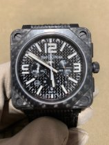 Bell & Ross BR 01-94 Chronographe new Watch with original box and original papers BR0194-CA FIBER