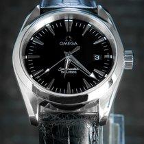 Omega 39mm Quartz occasion Seamaster Aqua Terra Noir