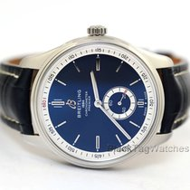 Breitling Steel 40mm Blue No numerals