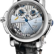Ulysse Nardin Sonata White gold 42mm Grey No numerals United States of America, New Jersey, Princeton
