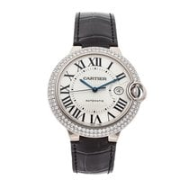 Cartier Ballon Bleu 42mm White gold 42mm Silver Roman numerals United States of America, Pennsylvania, Bala Cynwyd
