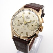 Heuer Yellow gold Manual winding pre-owned