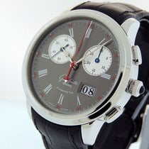 Glashütte Original Senator Rattrapante Platinum 42mm Grey United States of America, California, Los Angeles