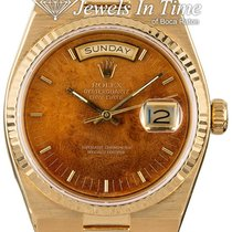 Rolex 19018 Yellow gold 1981 Day-Date Oysterquartz 36mm pre-owned United States of America, Florida, 33431