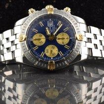 Breitling Chronomat Evolution Gold/Stahl 44mm Blau Keine Ziffern