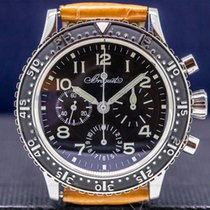 Breguet Type XX - XXI - XXII Steel 39.5mm Black Arabic numerals United States of America, Massachusetts, Boston