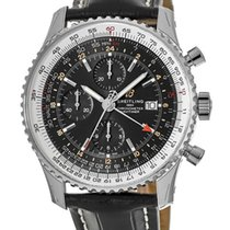 Breitling Navitimer GMT new Automatic Chronograph Watch with original box A24322121B2P2