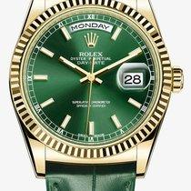 勞力士 (Rolex) DAY-DATE green Dial White Gold