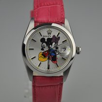 Rolex Mickey Mouse and Mini Mouse Oysterdate