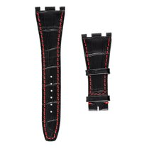 Audemars Piguet Royal Oak Black Alligator Custom Strap with...