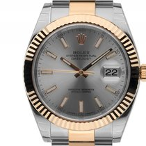 Rolex Datejust 41 Stahl Gelbgold Automatik Armband Oyster...