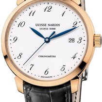 Ulysse Nardin Classico Rose gold White United States of America, New York, Brooklyn
