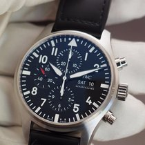 IWC Pilot Chronograph new 2019 Automatic Chronograph Watch with original box and original papers IW377709