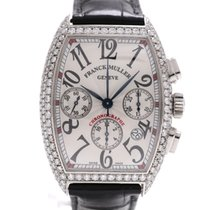 Franck Muller Chronograph Custom Set Diamonds
