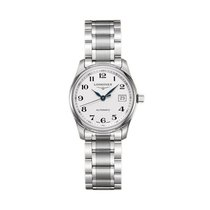 Longines Steel Automatic Silver Arabic numerals 29mm new Master Collection