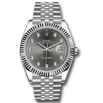 Rolex White gold Automatic 41mm new Datejust