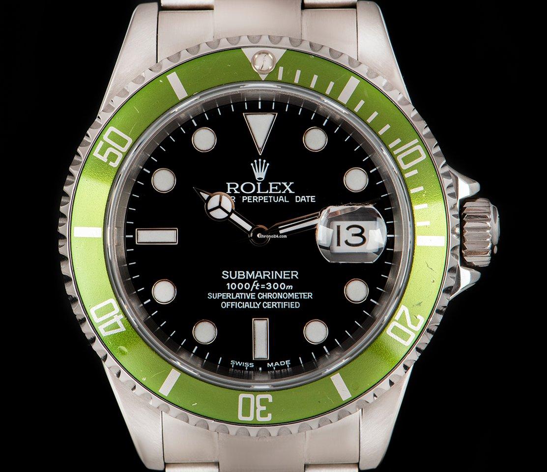 Rolex Submariner Kermit 16610LV
