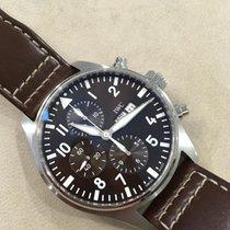 IWC Pilot Chronograph używany 43mm Stal