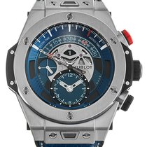 Hublot 45mm Automatic 2016 pre-owned Big Bang Unico Blue