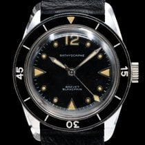 Blancpain 34mm Cuerda manual usados Fifty Fathoms Bathyscaphe Negro