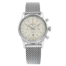 Breitling Transocean Chronograph 38 Steel 38mm Silver United States of America, New York, NYC