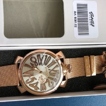 Gaga Milano Rose gold 45mm Quartz 5020.4 new