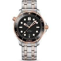Omega Seamaster Diver 300 M Gold/Steel 42mm Black No numerals United States of America, Florida, Hollywood