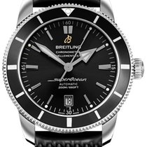 Breitling Superocean Héritage II 42 Steel 42mm Black No numerals United States of America, Iowa, Des Moines