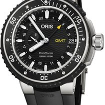 Oris Titanium Automatic Black 49mm new ProDiver GMT